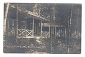 Belgrade Lakes, Maine Real Photo Postcard:  Jamaica Point Camps