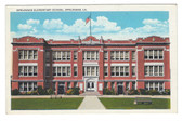 Opelousas, Louisiana Postcard:  Elementary School