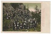 Lake Memphremagog, Vermont Postcard:  Golden Rule Lodge on Owl's Head Mountain