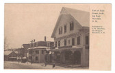 Meredith, New Hampshire Postcard: Main Street & Drug Store
