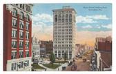 Lexington, Kentucky Postcard:  Main Street Looking East & Trolley Cars