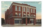 Independence, Kansas Postcard:  Beldorf Theatre