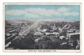 Springdale, Arkansas Postcard:  Bird's Eye View