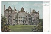 Eureka Springs, Arkansas Postcard:  Crescent Hotel