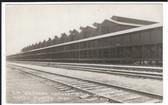 North Platte, Nebraska Real Photo Postcard:  Union Pacific Ice House