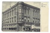 Macon, Missouri Postcard:  First National Bank
