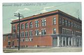 Columbia City, Indiana Postcard:  Masonic Temple