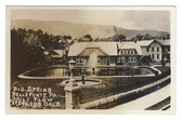 Bellefonte, Pennsylvania Real Photo Postcard:  Big Spring
