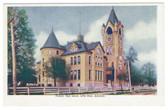 Little Rock, Arkansas Postcard:  Peabody High School