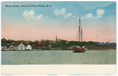 Pictou, Nova Scotia, Canada Postcard:  Water Front, Pictou Centre