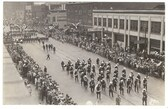 Peoria, Illinois Real Photo Postcard:  1929 Downtown Parade
