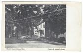 Conway, Massachusetts Postcard:  Masonic Square