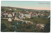 Kentville, Nova Scotia, Canada Postcard:  West View