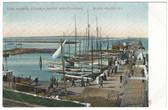 "Block Island, Rhode Island Postcard:  Steamer ""Mount Hope"" & Landing"