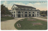 Rock Springs Park, West Virginia Postcard:  Casino