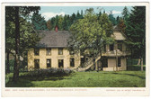 Old Forge, Adirondack Mountains, New York Postcard:  Fish Hatchery