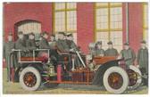 Bridgeport, Connecticut Postcard:  Bridgeport's Auto Chemical Fire Engine