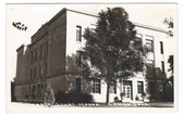 Lamar, Colorado Real Photo Postcard:  Drowers County Court House