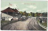 Lima, Ohio Postcard:  Harness Racing Track