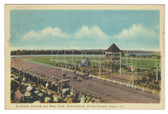 Charlottetown, Prince Edward Island Postcard:  Exhibition Grounds and Harness Racing Track
