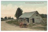 Grand Pre, Nova Scotia, Canada Postcard:  Basil's Blacksmith Shop
