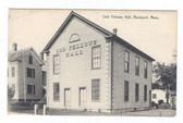 Rockport, Massachusetts Postcard:  Odd Fellows Hall