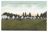 Charlottetown, Prince Edward Island, Canada Postcard:  Brighton Military Camp