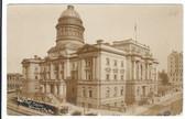 Kansas City, Missouri Real Photo Postcard:  Post Office