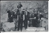 New Glarus, Wisconsin Real Photo Postcard:  New Glarus Maennerchor