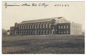 Ames, Iowa Real Photo Postcard:  Gymnasium at Iowa State College