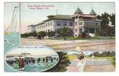 Long Beach, California Postcard:  Long Beach Sanitarium