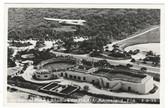 Marineland, Florida Real Photo Postcard:  Air View of Marine Studios