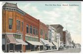 Mitchell, South Dakota Postcard: West Side Main Street