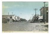 Edgar, Nebraska Postcard:  Main Street