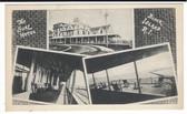 Block Island, Rhode Island Postcard:  The Surf Hotel