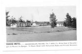 Skowhegan, Maine Postcard:  Chasse Motel