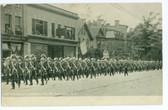 Salamanca, New York Postcard:  Salamanca Commandry No. 62 Parade