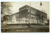 Aurora, Illinois Real Photo Postcard:  East High School