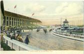 Brockton, Massachusetts Vintage Postcard: Brockton Fair Harness Racing