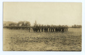 Framingham, Massachusetts Real Photo Postcard:  Reviewing the 2nd Regiment on Governor's Day