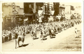 Pendleton, Oregon Real Photo Postcard:  Pendleton Round-Up Parade