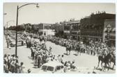 Garden City, Kansas Postcard:  Rodeo Parade