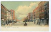 Saginaw, Michigan Postcard:  Genesee Street