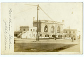 Joliet, Illinois Real Photo Postcard:  Railroad Station