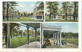 Poland Springs, Maine Postcard:  Multiview