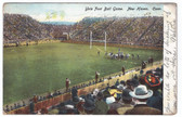 New Haven, Connecticut Postcard:  Yale Football Game