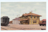 Sparks, Nevada Postcard:  Railroad Station
