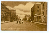 Bakersfield, California Postcard:  Nineteenth Street