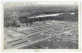 Pine Camp, New York Postcard:  Hospital Unit, Camp Drum