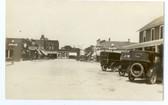 Correctionville, Iowa Real Photo Postcard:  Central Avenue